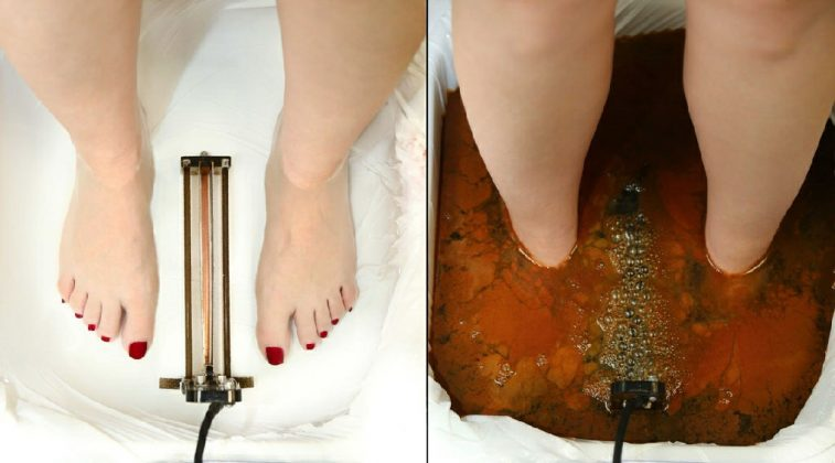 Do this to detoxify your body through your feet