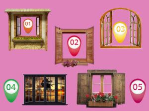 A janela que você escolher revelará suas qualidades